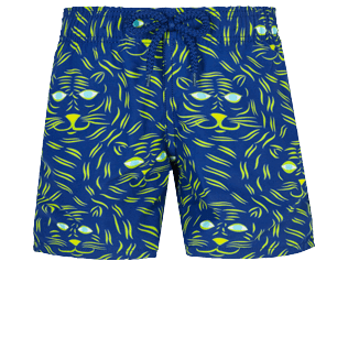 Boys Others Printed - Boys Swim Trunks Bengale Tigers, Batik blue front