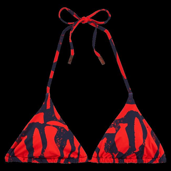 Vilebrequin - Silex Fishes Triangle shape bikini top - 1