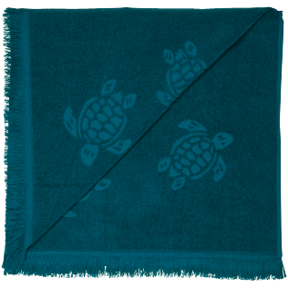 Others Solid - Beach Towel Fouta Jacquard Tortues, Spray back
