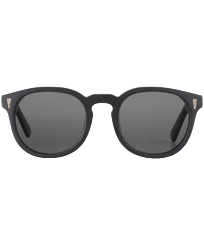 Others Solid - Unisex Sunglasses Bond Black, Black frontworn