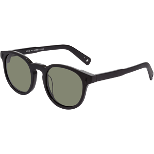 Others Solid - Polarised Khaki Sunglasses, Black back