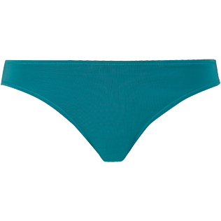 Women Classic brief Solid - Women midi brief bikini Bottom Solid, Pine wood front