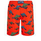 Hombre Clásico largon Estampado - Men Swimwear Long Turtle Swim, Nispero back