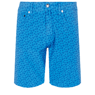 Men Others Printed - Men Cotton Bermuda Shorts Micro Ronde Des tortues, Ocean front
