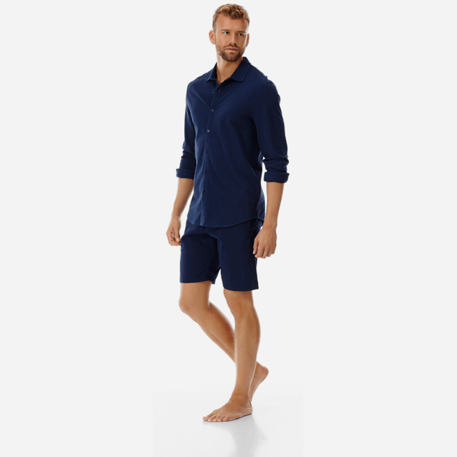 Vilebrequin - Men Cotton Pique Shirt Massimo Vitali - 7