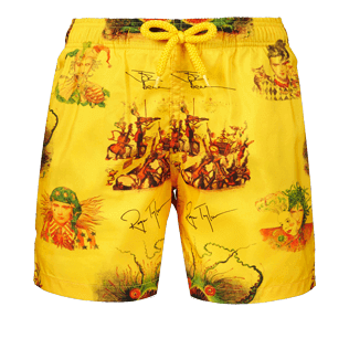 Boys Others Printed - Boys Ultra-Light and packable swimtrunks Joker Queen, Christophine front