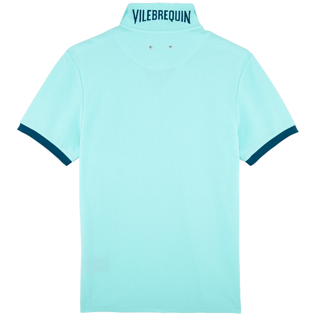 Vilebrequin - Polo en Piqué de Coton Homme Uni - 2