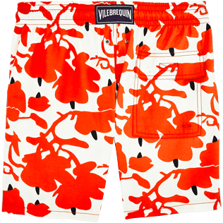 Men Classic / Moorea Printed - Donald Sultan Swimshort, White back