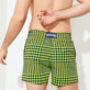 Men Stretch classic Printed - Men Swim Trunks Stretch Crocros, Grass green supp1