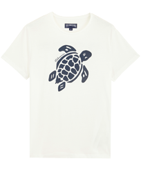 Men Others Printed - Men Organic Cotton T-Shirt Turtle Team, Chalk front