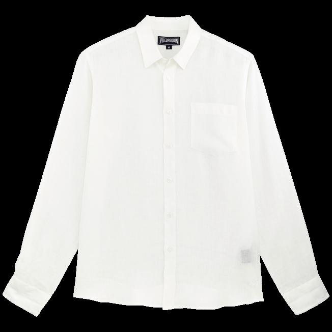 Vilebrequin - Men Linen Shirt Solid - 1