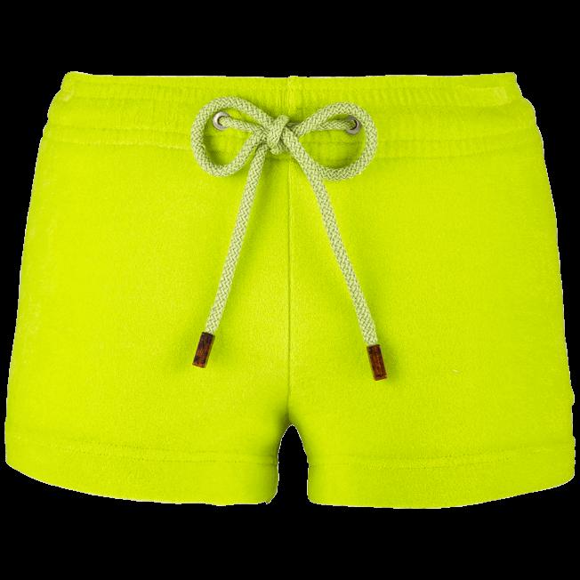 Vilebrequin - Pantalón corto en tejido terry liso para mujer - 1