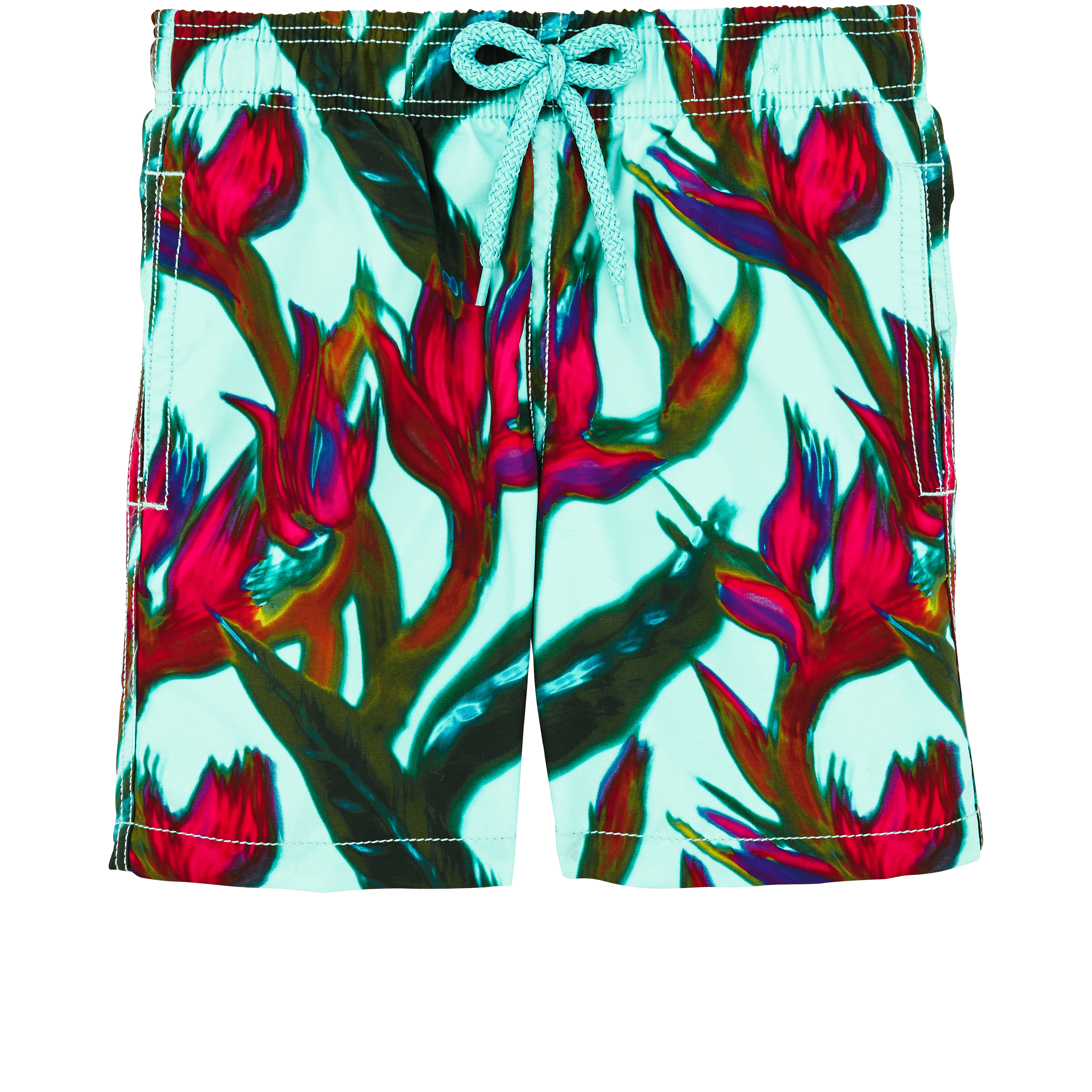 VILEBREQUIN | Boys Swimwear - Boys Swimwear Paradise 3D - SWIMMING TRUNK - JIM - Blue - 8 - Vilebrequin | Goxip