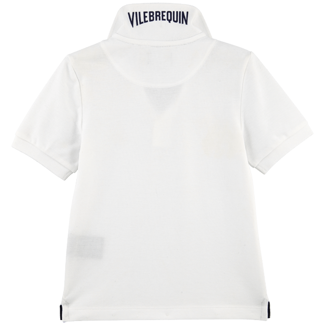 Vilebrequin - Boys Cotton Pique Polo Shirt Solid - 2