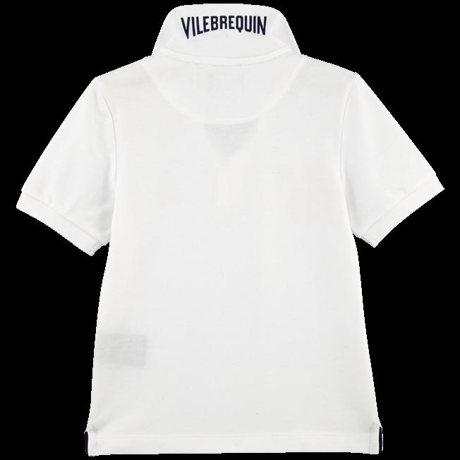 Vilebrequin - Polo Garçon en Piqué de coton Uni - 2