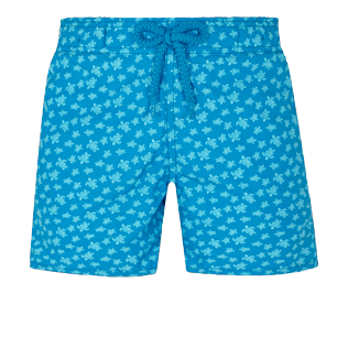 Boys Others Printed - Boys Swim Trunks Micro Ronde des Tortues, Hawaii blue front