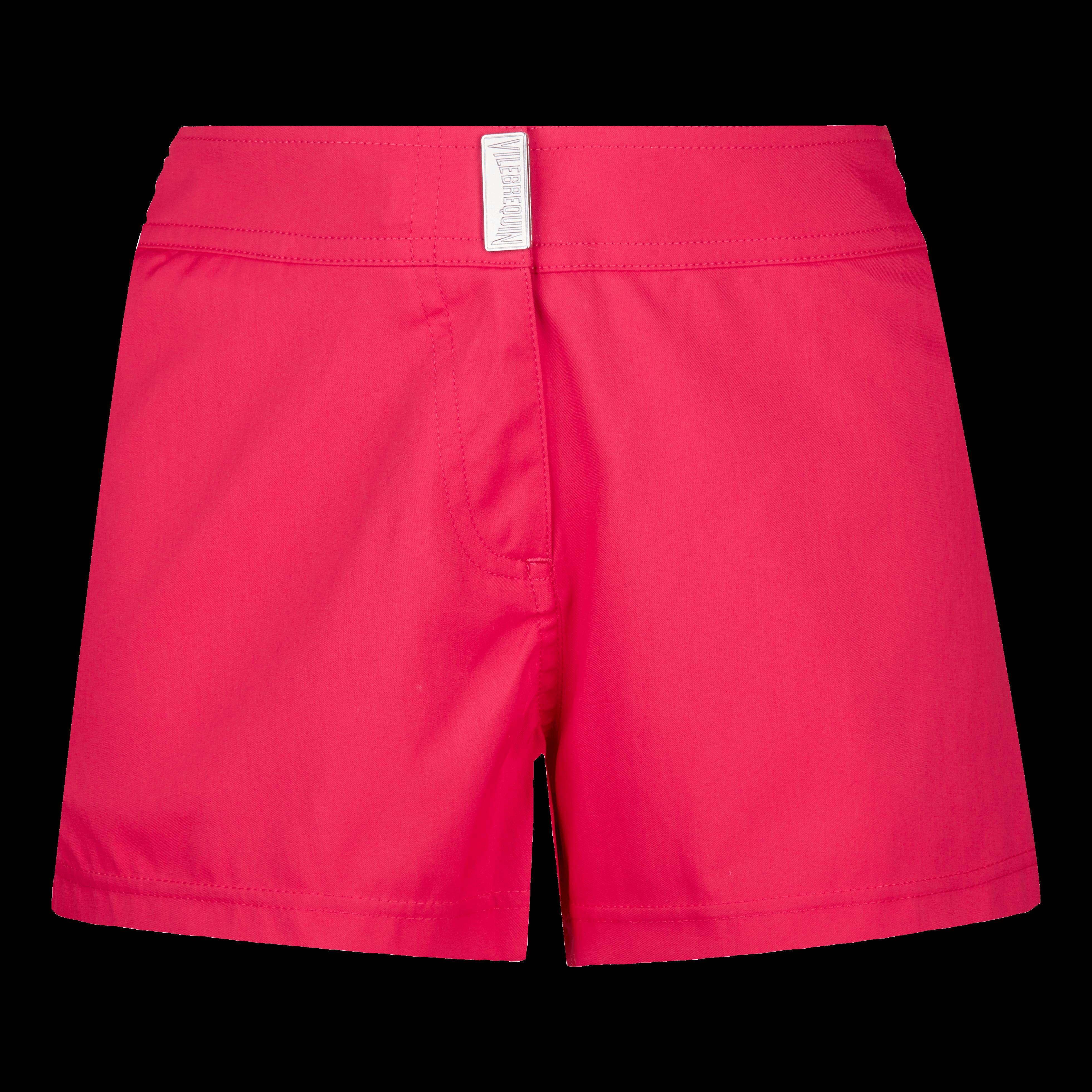 Vilebrequin Women Stretch Swim Short Solid In Red