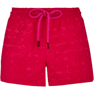 Women Others Printed - Women water reactive Swim short Tulum, Gooseberry red supp3
