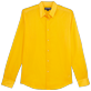 Others Solid - Unisex cotton voile Shirt Solid, Mango front
