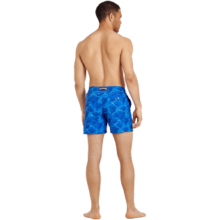 Men Embroidered Embroidered - Men Embroidered Swimwear Sydney - Limited Edition, Sea blue backworn