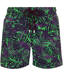 Men Stretch classic Printed - Men Stretch Swimwear Madrague, Grass green front