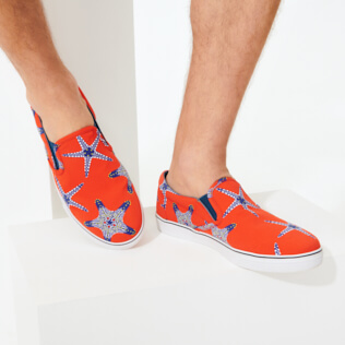 Men Others Printed - Men Shoes Starfish Dance, Medlar supp1
