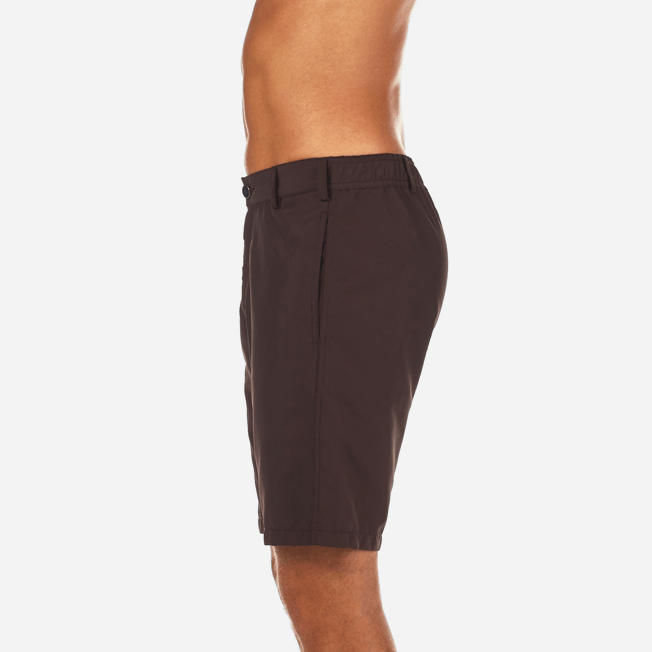 Vilebrequin - Bermudas rectas en tejido de bañador con estampado liso para hombre - 7