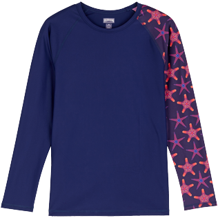 Men Others Printed - Men Rashguard Starfish Dance, Sapphire front