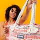 Others Printed - Large Beach Bag Eco-friendly, Red supp1