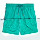Men Classic Printed - Water-reactive Sardines à l'Huile Swim shorts, Veronese green front