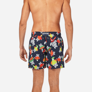 Men Classic / Moorea Printed - Sweater Turtles Swim shorts, Navy supp2