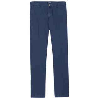 Men Others Solid - Men Chino Pants Ultra-Light, Navy front