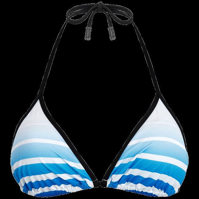 Vilebrequin - Karl Lagerfeld Triangle shape bikini top - 1