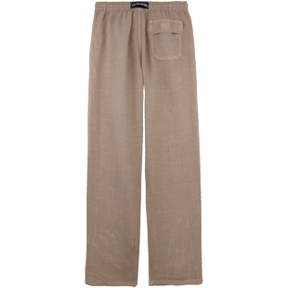 Men Others Solid - Men Linen Pants Solid, Safari back