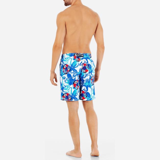 Vilebrequin - Bañador con estampado Soccer Turtles para hombre - 4