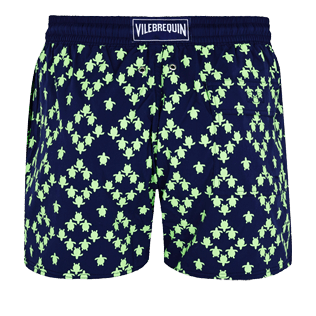 Men Stretch classic Printed - Men Swimwear Glow in the dark Stretch Squad Turtles, Navy back