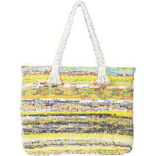 Others Printed - Large Beach Bag Eco-friendly, Yellow back