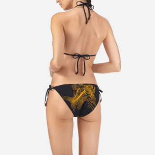 Women Classic brief Printed - Prehistoric Fish Bikini brief, Navy supp2