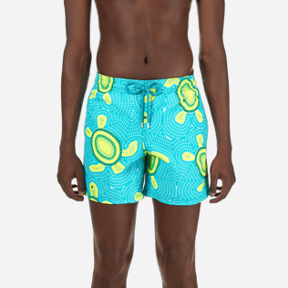 Men Classic Printed - Men Swimtrunks Mosaic Turtles, Curacao supp1