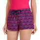 Women Others Embroidered - Women embroidered Swim Short Hippocampes, Midnight blue supp1