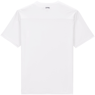 Men Others Solid - Men Pima Cotton Jersey T-Shirt Solid, White back