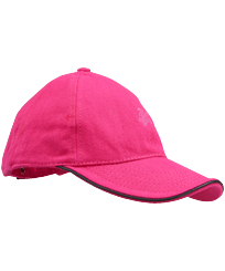 Others Solid - Kids Cap Solid, Shocking pink front