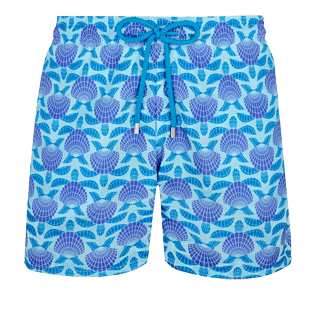 Men Ultra-light classique Printed - Men Swimwear Ultra-Light and Packable Shellfish and Turtles, Acqua front
