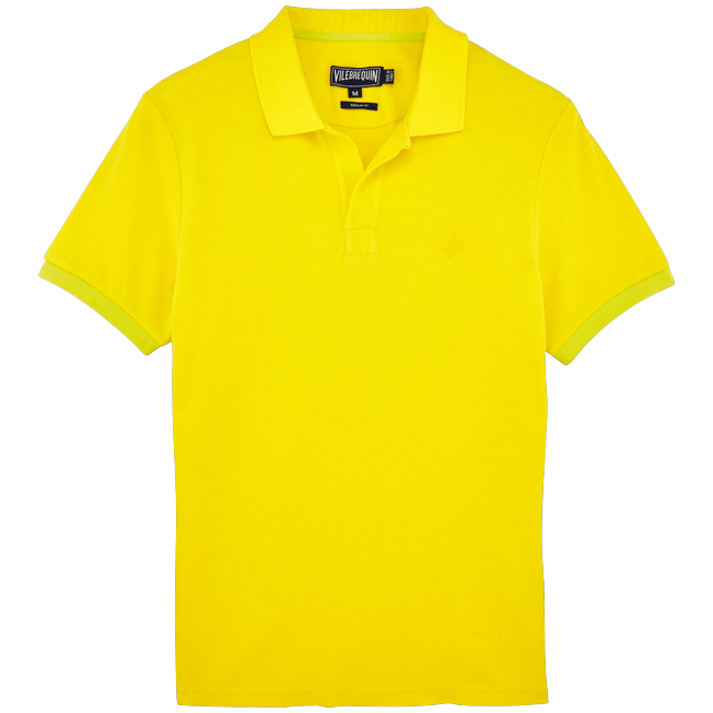 Vilebrequin - Polo en Piqué de Coton Homme Uni - 1