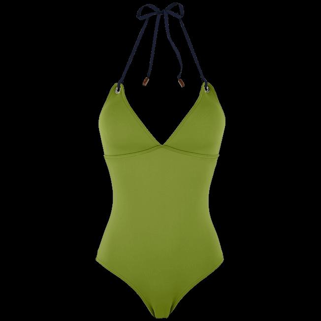 Vilebrequin - Women Triangle One Piece Swimsuit Neoprene - 1