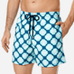 Men Classic Printed - Men Swim Trunks Wax Turtles, Acqua supp1