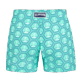 Girls Others Printed - Girls Swim short Ancre De Chine, Mint back