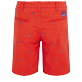 Men Others Embroidered - Men Chino Embroidered Bermuda Shorts Micro Ronde des Tortues, Medlar back
