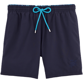 Men Classic / Moorea Solid - Madrague Lightweight Bicolor Swim shorts, Navy front