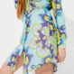 Women Others Printed - Women Cotton Shirt Dress Kaleidoscope, Lagoon supp3